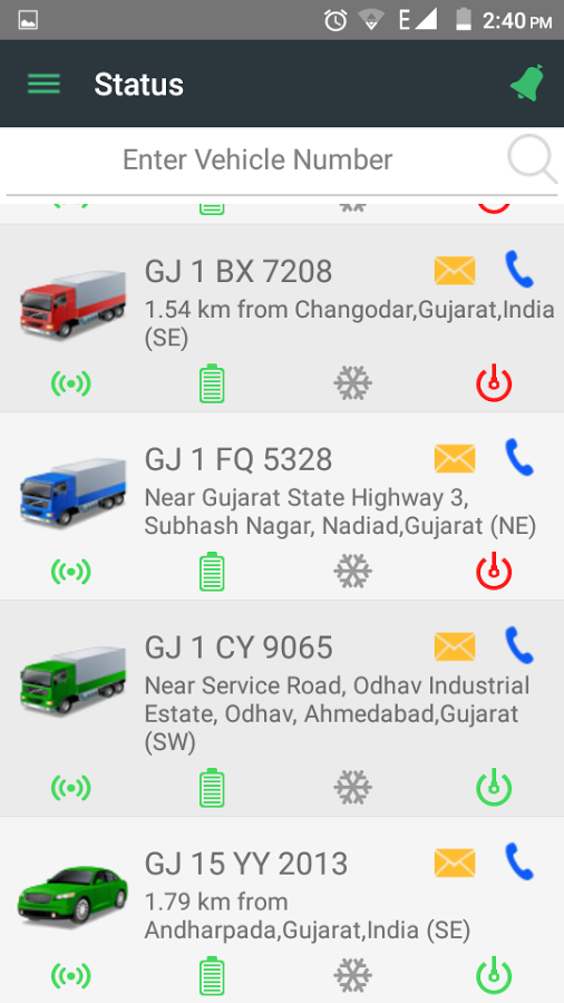 GPS personal vehicle tracking system